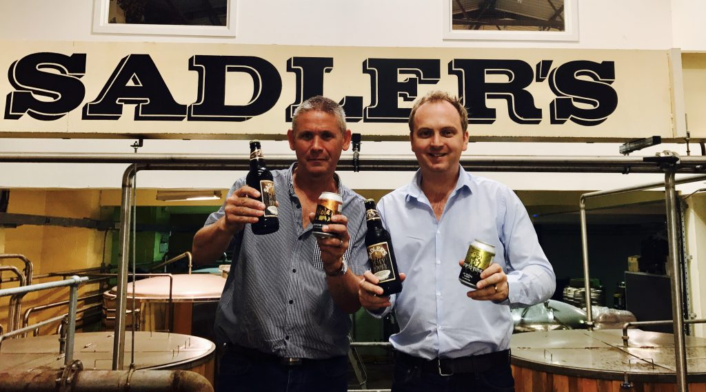 Halewood Brews Support For Sadler S Brewery With