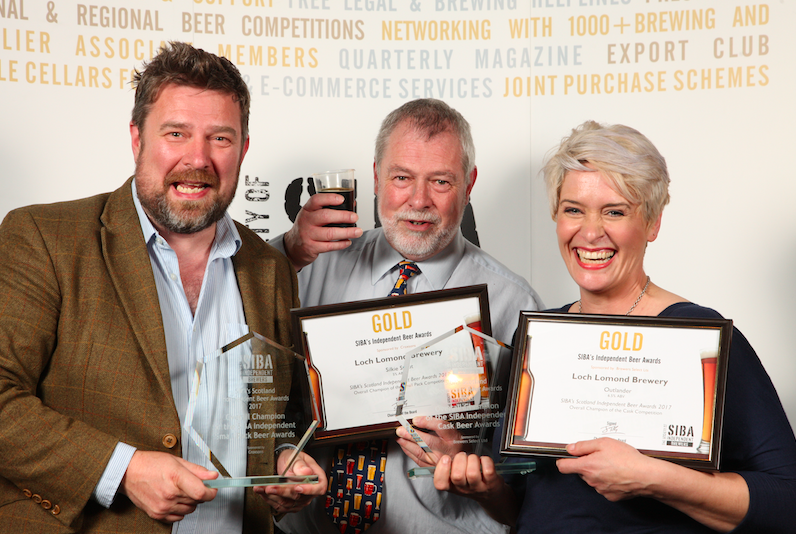 Loch Lomond sweep the board at SIBA Scotland Independent Beer Awards - SIBA  - The Voice Of British Brewing