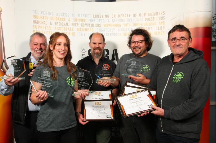 Hawkshead Brewery take home double Gold at SIBA..