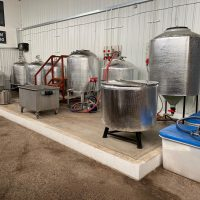 Complete set of 5 BBL Brewery Brewing equipment including all Vessels, 3 x 5BBL FV's, pumps etc.